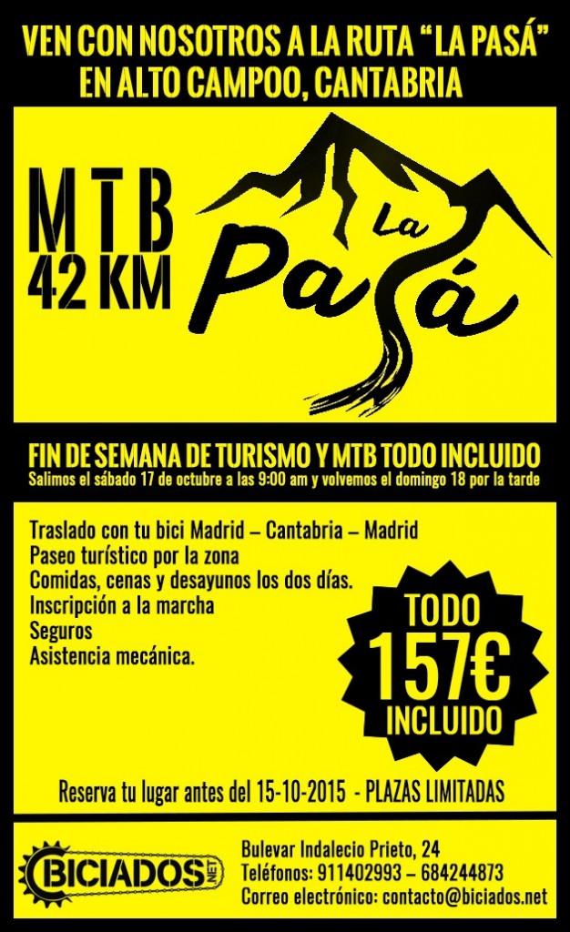 """Ven con nosotros a la ruta """"La Pasá"""", en Alto Campoo, Cantabria"""