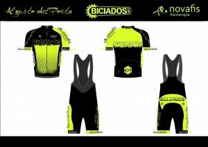 Equipación ciclista temporada 2016 - 2017